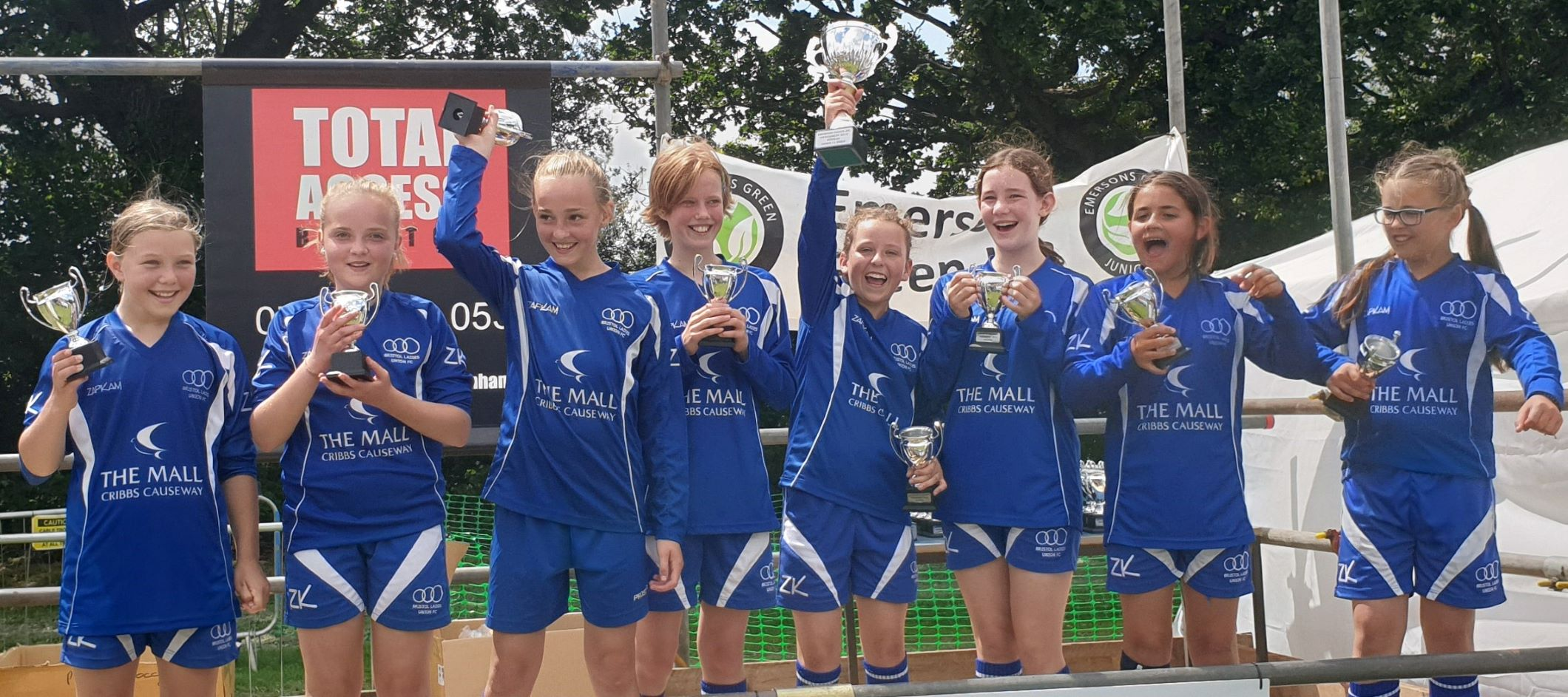 BLU U11 Wins Emersons Green Tournament