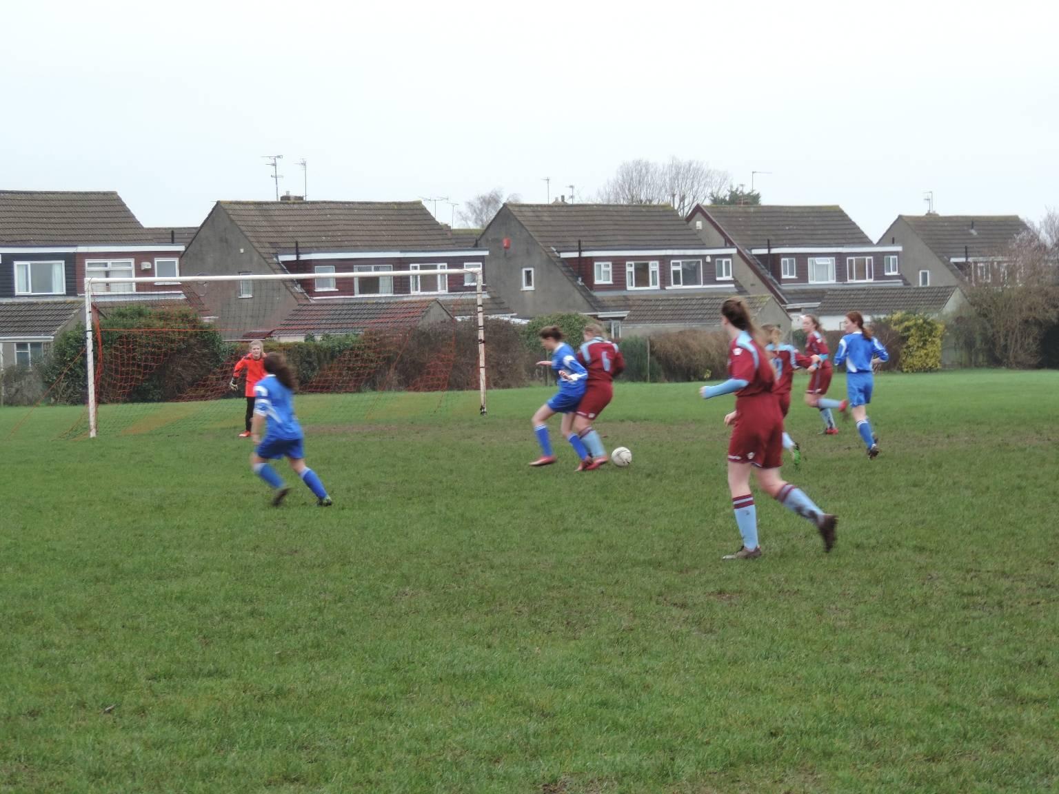 U15 Mangotsfield 0 – 7 BLU FC